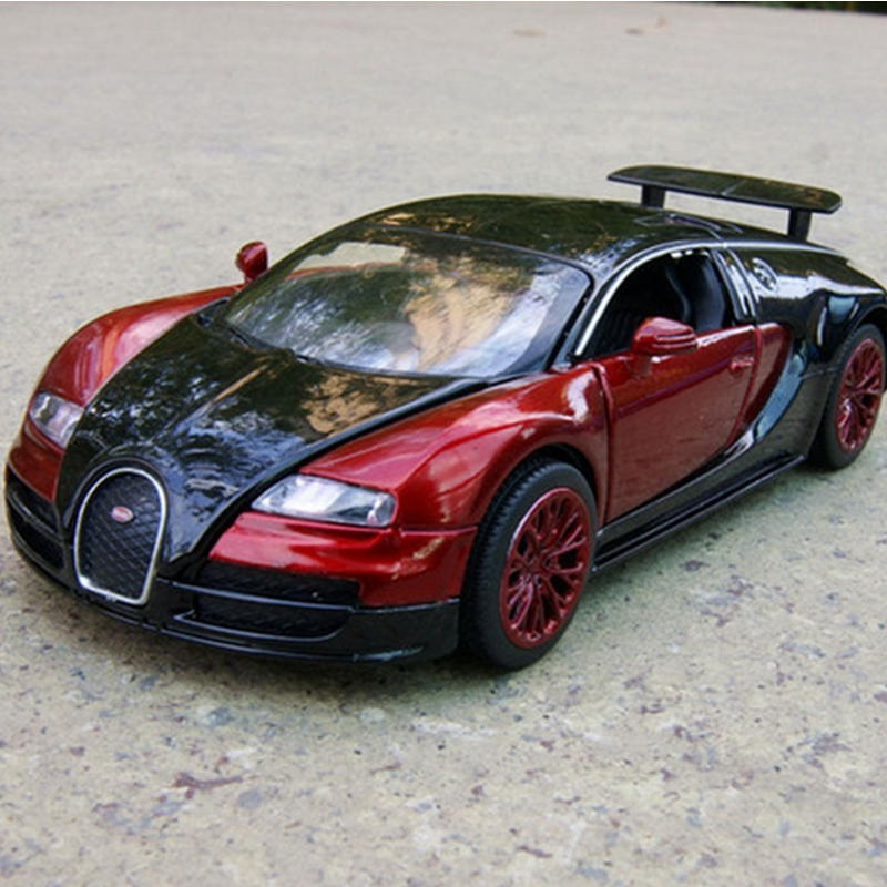 new collection alloy diecast car model kid gifts 132 bugatti veyron diecast car toy