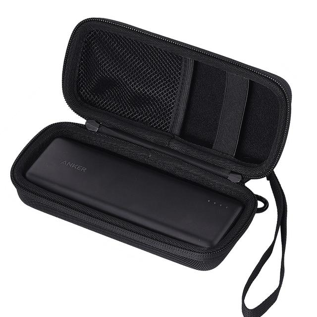 Nueva caja de transporte de Banco de energía para Anker PowerCore 20100 cargador portátil Paquete de batería externa 20100 mAh bolsa de almacenamiento de viaje
