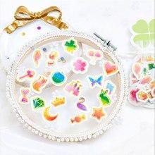 100 pcs/lot Cute pattern mini paper sticker DIY diary decoration stickers for planner album scrapbooking kawaii stationery