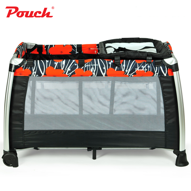 Multifunctional cribs Portable game bed European style cribs foldable models baby BB beds
