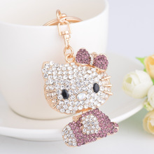 b42b911f9 Buy hello kitty rhinestone keychain and get free shipping on AliExpress.com