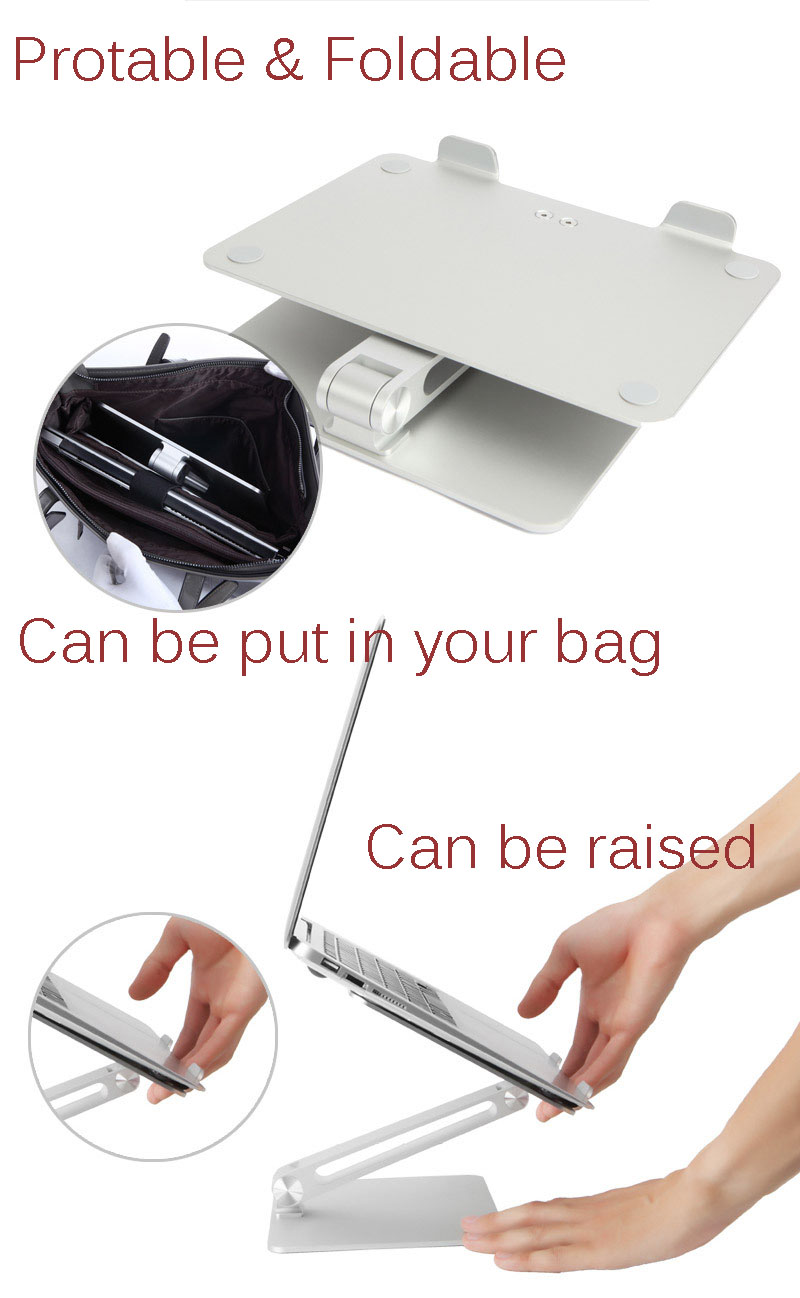 13 pro 15 ajustável portátil suporte de