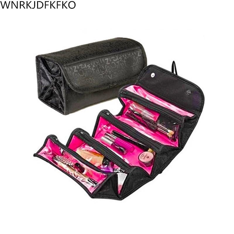 2019 Women Cosmetic Bag Beautician Men Beauty Toiletry Travel Makeup Organizer Box Case For Cosmetic Bag
