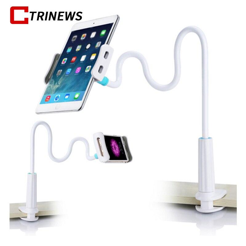 CTRINEWS Lazy Phone Holder Flexible Arm Mobile Phone Gooseneck Stand Holder Mount Cell Phone Holders For iPad Tablet Bracket