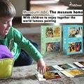 Mideer Bebé Arte Museo ABC 20 unids/set Familia & Play/plantas y Animales Aprendizaje Juguetes Educativos