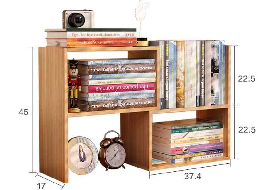 Desk bookshelf bookshelves Bookcase Book Shelf Storage Rack commodity shelf