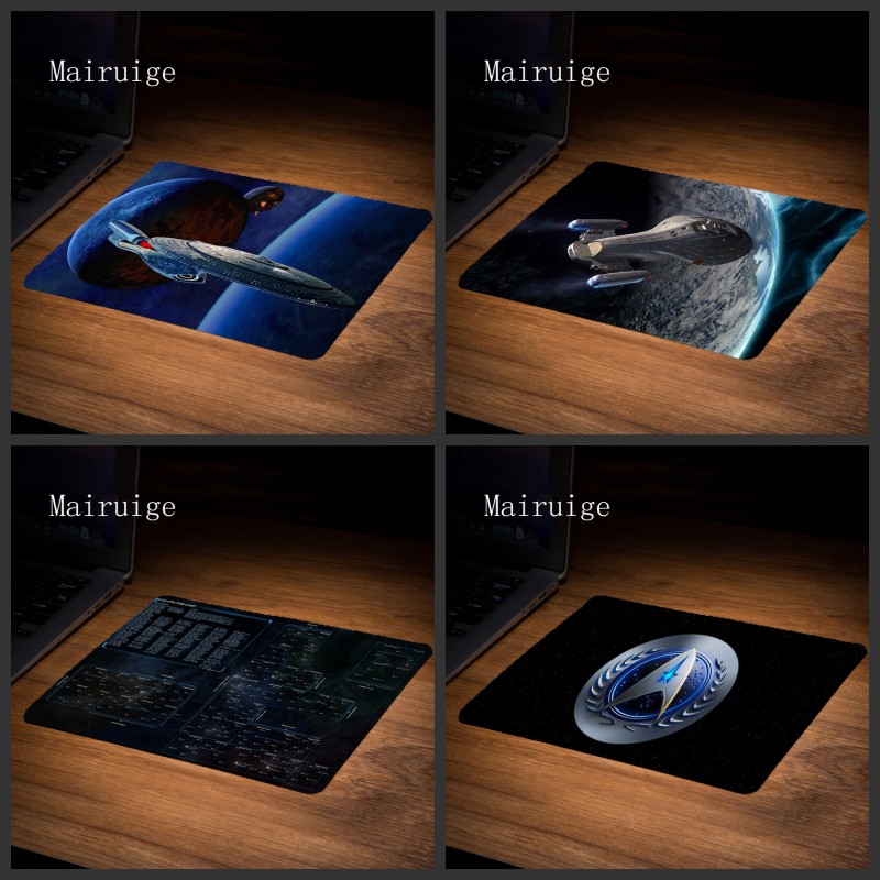 Mairuige hot selling game mousepad star trek hight quality best anti slip computer gaming mousepad durable desktop mousepad ...