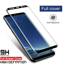 3D Full Cover Screen Protectors For Samsung Galaxy S10 Plus S10e S8 S9 Plus S7 Edge S10 Film 9H Tempered Glass Screen Protectors(China)
