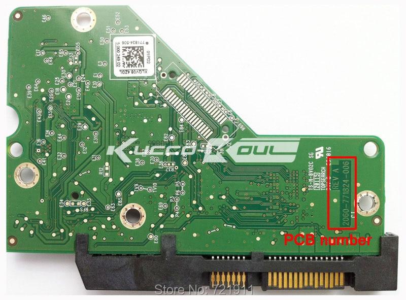 HDD PCB Logic Board Circuit Board 2060 771824 006 For 3.5 Inch SATA Hard Drive Repair Hdd Date Recovery