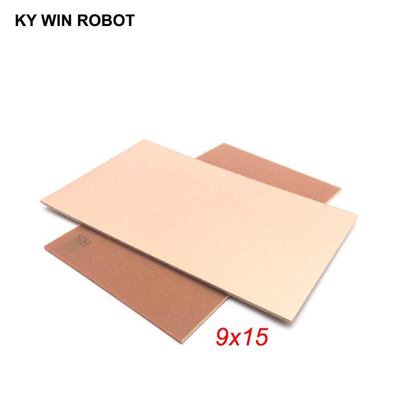 1 Pcs PF PCB 9*15cm Single Side Copper Clad Plate DIY PCB Kit Laminate Circuit Board 9x15cm 90x15x1.5mm