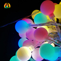 2M 20leds Led holiday lights string flasher RGB wedding christmas festival lights Multicolor AA battery Decoration Party Lights