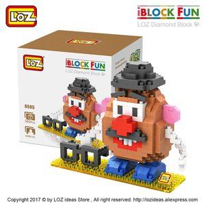 Image 2 - Loz Diamant Blokken Plastic Bouwstenen Kids Kinderen Gift Educatief Speelgoed Cartoon Model Educatief Diy Building Figuur 9505