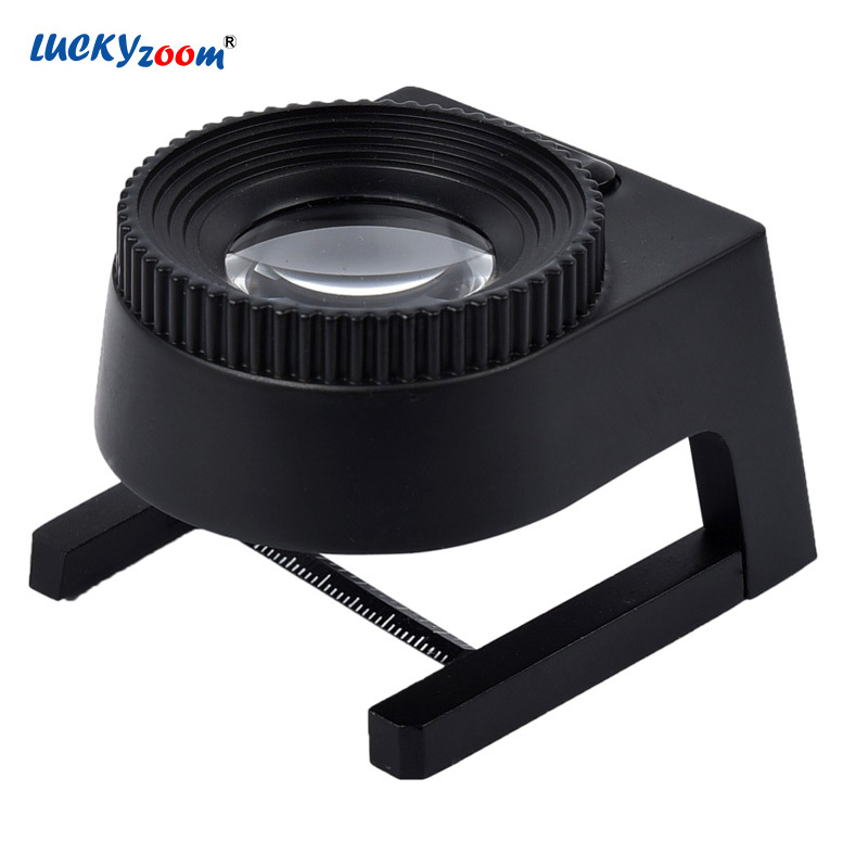 15X Lupe Mit Skala LED Lampe Beleuchtet Schmuck Lupe Lupe Dual Optische Glas Druck Tuch Lupe Lupa