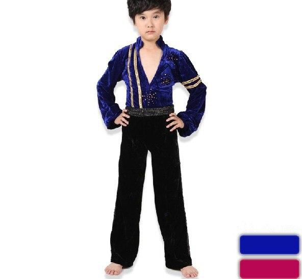 0d134792deafa8 Gratis bezorging kid's prestaties latin jurk Kleding Kinderen Jongen Latin  Dance Shirt Dansen Kostuums Jongens Latin dancing in Gratis bezorging kid's  ...