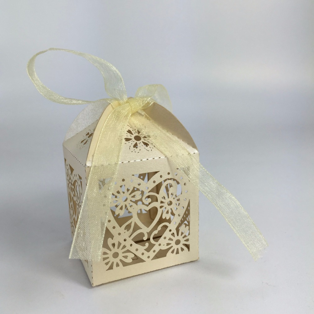 wholesale beautiful wedding gift heart shaped gift box paper candy ...
