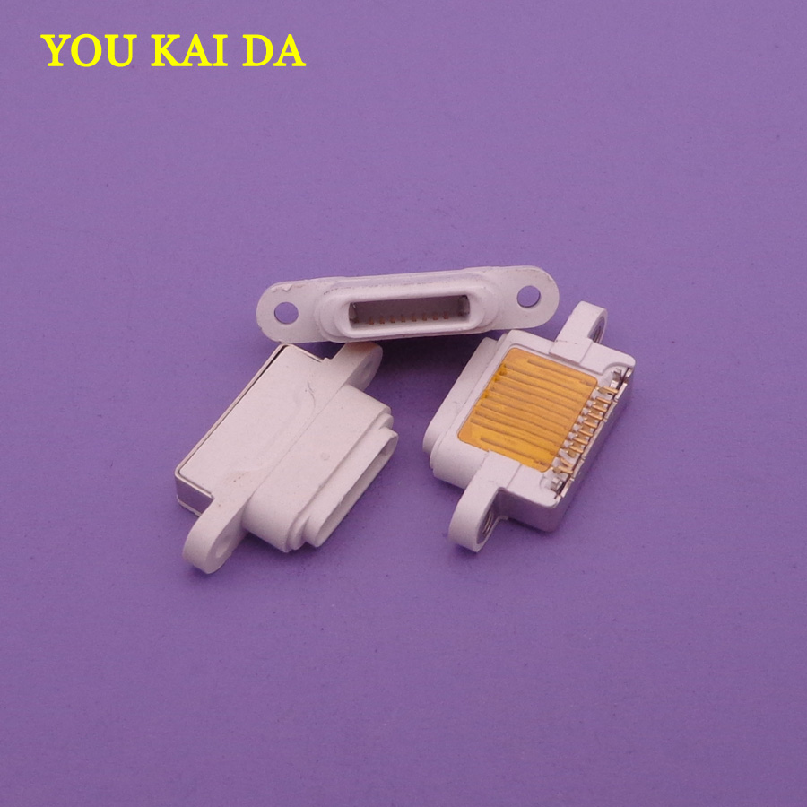 10pcs/lot white <font><b>DC</b></font> Power Mini USB Jack for Apple iPad <font><b>5</b></font> iPhone Ipad Mini <font><b>2</b></font> Charging Port Female Socket Micro USB connector 10pin image