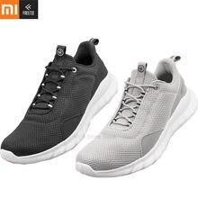65e1e6ee Xiaomi FREETIE спортивная легкая обувь Вентиляция Упругие вязаная обувь  дышащий освежающий город бег кроссовки для человека H33