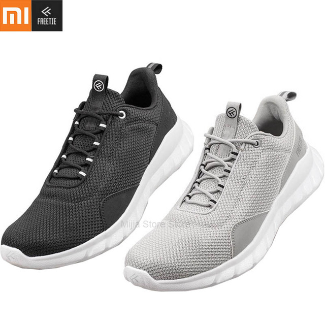 Xiaomi FREETIE Sports Shoes Lightweight Ventilate Elastic Knitting Shoes Breathable Refreshing City Running Sneaker For Man H33