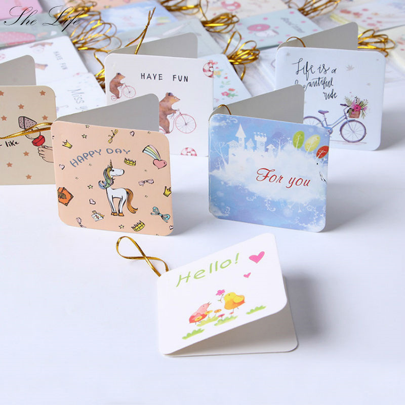 168 pcs flower greeting card blessing wish friends thank you holiday wedding new year cards in cards invitations from home garden on aliexpresscom