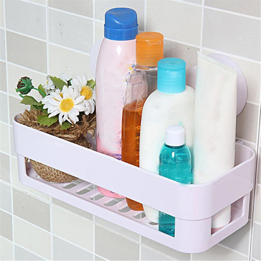bathroom storage holder shelf shower caddy tool organizer rack basket sucker cup