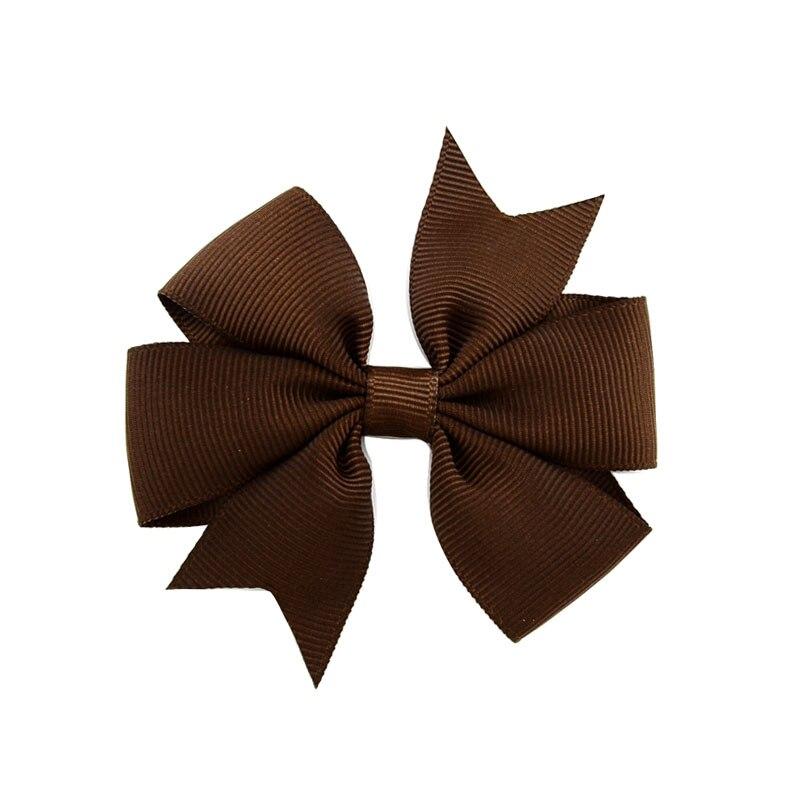 1 шт цвета сплошная корсажная лента банты заколки шпилька девушка бант для волос, бутик заколка для волос Головные уборы Детские аксессуары для волос 564 - Цвет: 3