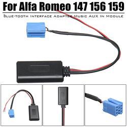 חדש AUX כחול-שן מוסיקה מתאם ממשק אלחוטי רדיו סטריאו Aux כבל עבור אלפא רומיאו 147 156 159 Brera מיטו GT ג 'ולייטה