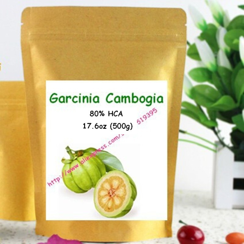 17.6oz (500g) Pure Garcinia Cambogia Extract 80% HCA Powder, Natural Weight Loss Supplement