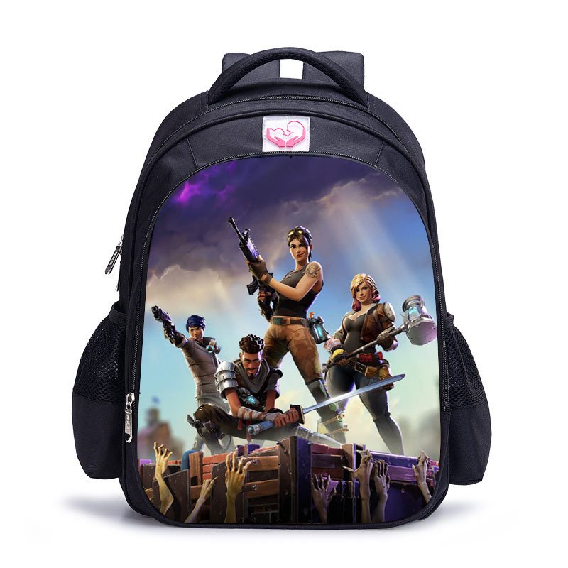 Children bag Backpack Boy Fortni Backpack 	3D Battle Royale Fortnit Game Backpack cosplay costume for Boys and Girls