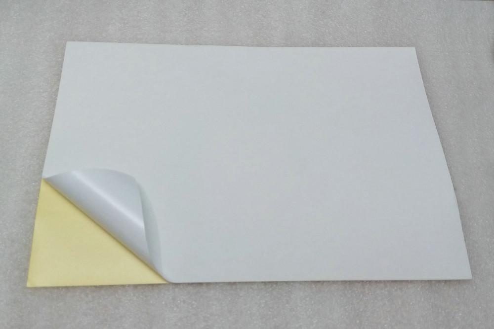 25 листов A4 самоклеящиеся этикетки наклейки матовая поверхность бумаги 297mmx210mm для струйных принтеров принять заказ