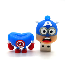 Avengers and Justice League Minion USB FlashDrive ( 11 styles)