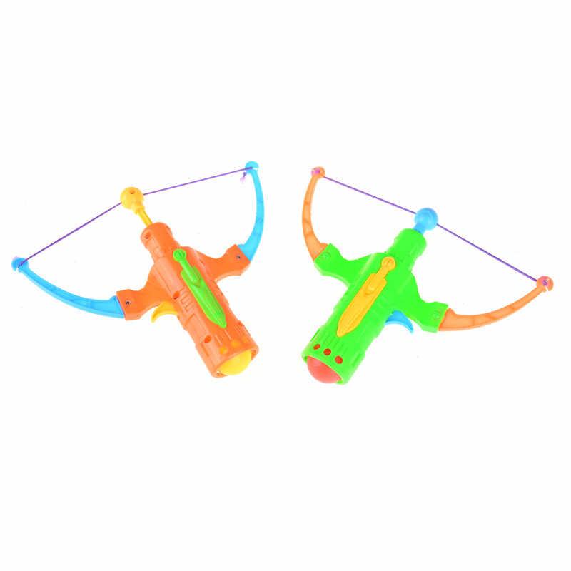 TOYZHIJIA 탁구 플라스틱 공 비행 디스크 슈팅 장난감 야외 스포츠 어린이 선물 Slingshot 사냥 소년 장난감 19x14cm