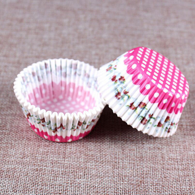 Greaseproof Paper Cake Forms (100Pc)