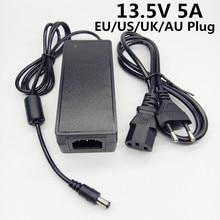 13.5 V 5A ue US royaume uni AU plug AC DC adaptateur secteur universel 5000mA 13.5 volts convertisseur alimentation adaptateur de voyage