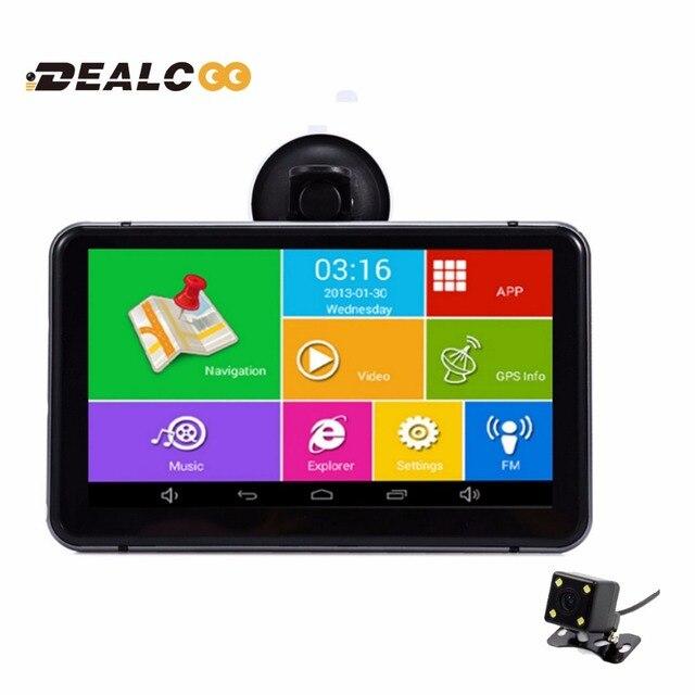 Car Dvr  Inch Hd Car Gps Navigation Android Navigator Rear View Tablet Pc Avin