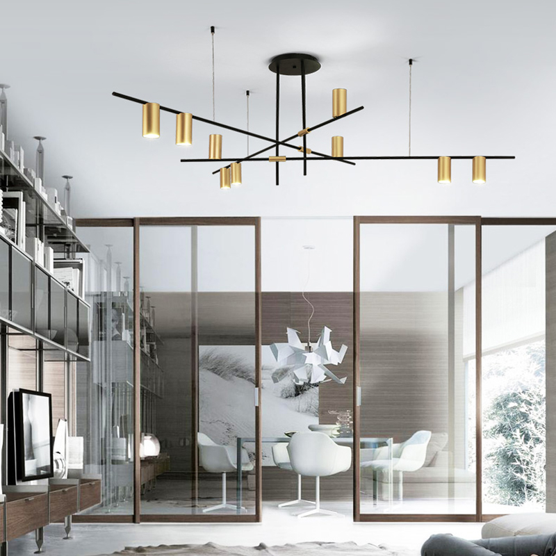 Chandelierrec Modern LED G9 Pendant Chandeliers AC110V 240V Home Lighting Fixtures Living Room Bedroom Low Ceilings Chandeliers|Chandeliers| |  - title=