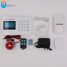 security GSM Alarm System S anti-theft alarm system Smart House with Alarm Detector Charger Remoter ecurity GSM Alarm System(China)