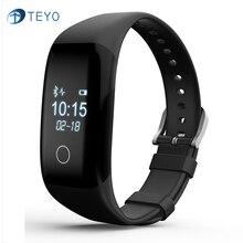 Teyo v6s smartband водонепроницаемый smart watch вызов напоминание сна трекер шагомер usb зарядки интерфейс циферблат умный браслет