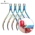 1Pc BORN PRETTY Nail Cuticle Nipper Cutter Rainbow Clipper Scissor Dead Skin Remover Trimming Manicure Nail Art Tool