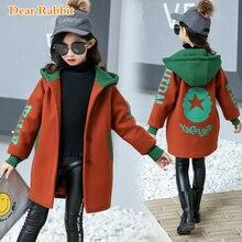 Kids clothing Woolen coat for Girls jackets Coats