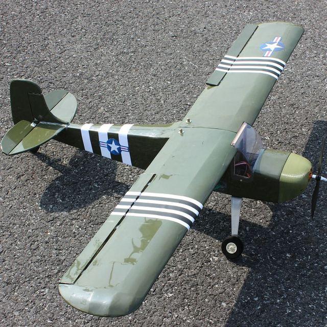 1200 мм DIY RC Самолет набор из пробкового дерева J3 Cub