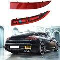 Для Porsche Panamera 2014-2016 правая задняя противотуманная фара крышка отражающая крышка