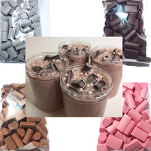 70PCS/Pack Slime Mud Filler Clay Decoration Craft Sponge Strip Foam Beads Kids Toys Christmas Gifts Slime Accessories 4 color(China)