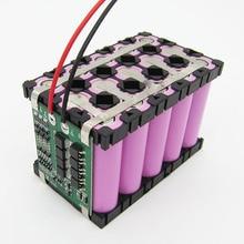 2019 Hot 10/20 Pcs 3X5 Mobiele 18650 Batterijen Spacer Houders Uitstraalt Shell Plastic Beugel DOM668