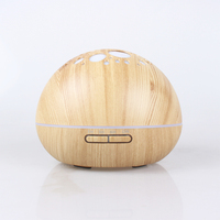 300ml Ultrasonic Air Humidifier Aromatherapy Electric Aroma Diffuser Essential Oil Diffuser With Color LED Light