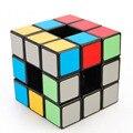 Lo nuevo de 3 Capas Cubo Mágico Hueco Etiqueta Engomada DEL PVC Del Cubo Vacío Lanlan Torcedura Velocidad Juegos de Puzzle de inteligencia Juguetes Educativos Negro-48