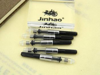 5 sztuk czarny wieczne pióro wkłady konwertera gorąca sprzedaż wkład do pióra tanie i dobre opinie jinhao 10pcs lot fountain pen refill fountain pen ink converter