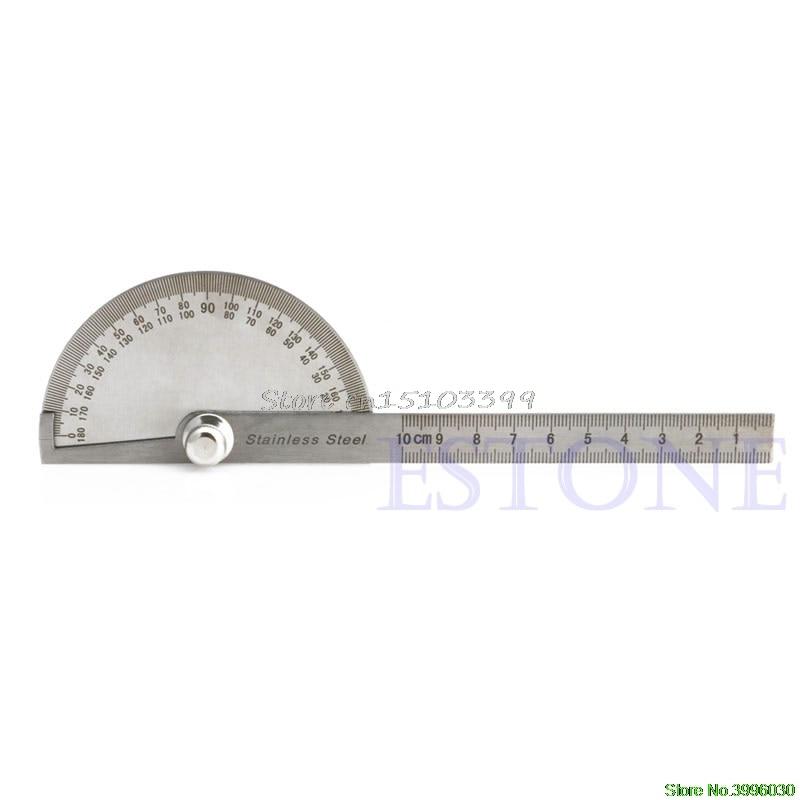 Edelstahl 180 grad Winkelmesser Winkel Finder Arm Rotary Mess Lineal