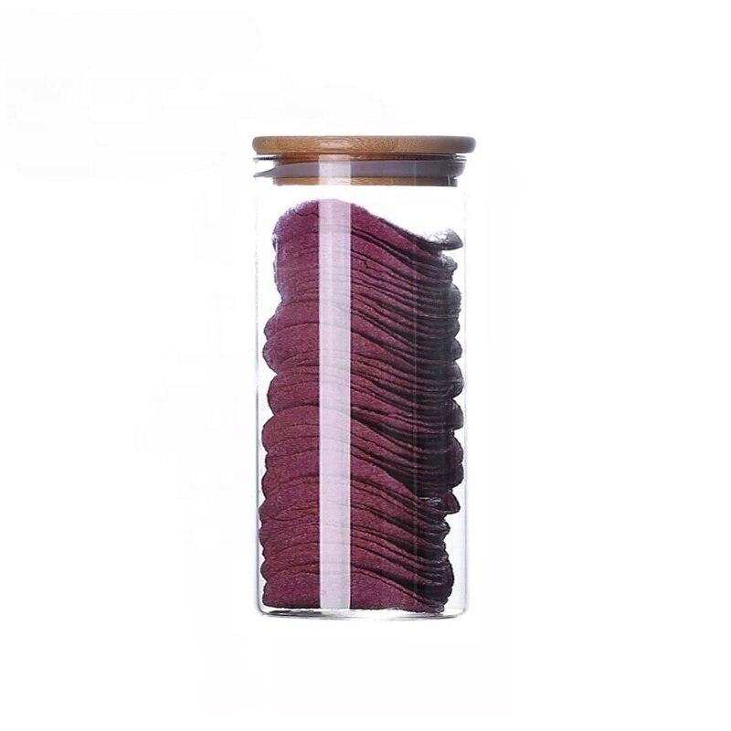 420ml Empty Clear Glass Honey Storage Jar