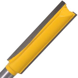 Image 3 - Haste extra longa 3 lâmina 8mm 1 peça 8mm, dia de corte. Ponteira roteadora reta cortador de madeira tenon cortador para trabalho de madeira