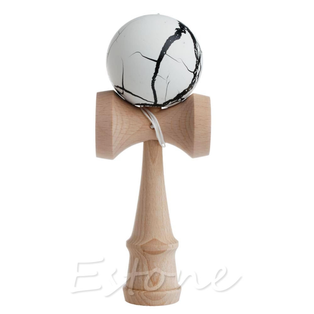 New High Quality Safety Toy Bamboo Kendama Best Wooden Toys Kids Toy Gift in Toy Balls from Toys Hobbies